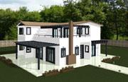 Διώροφο Προκατασκευασμένο Σπίτι 185τ.μ.