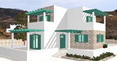 Διώροφο Προκατασκευασμένο Σπίτι 103τ.μ.