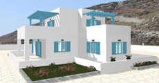 Διώροφο Προκατασκευασμένο Σπίτι 153τ.μ.