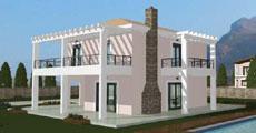 Διώροφο Προκατασκευασμένο Σπίτι 163τ.μ.