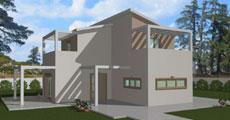 Διώροφο Προκατασκευασμένο Σπίτι 99τ.μ.