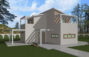 Δυόροφο Προκατασκευασμένο Σπίτι 99τ.μ.