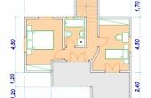 Δυόροφη Προκατασκευασμένη Οικία 120τ.μ.