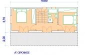 Δυόροφη Προκάτ Κατοικία 85τ.μ.