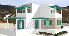 Two Floor Prefabricated House 103τ.μ.
